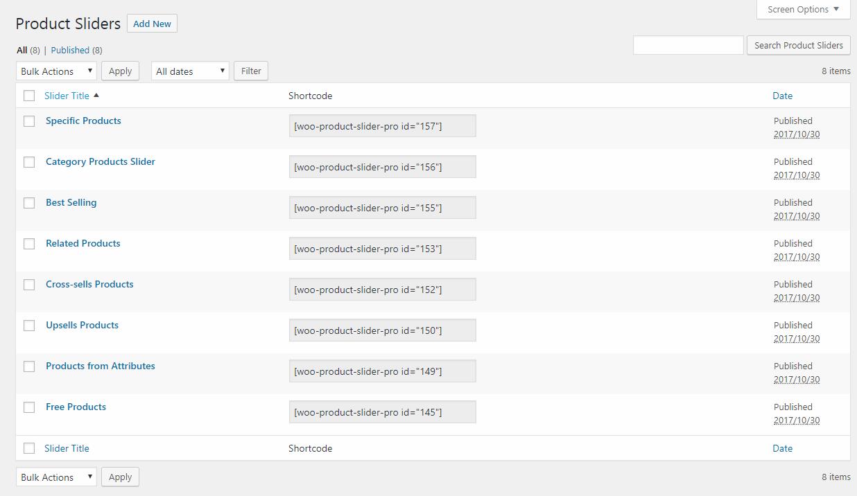 WooCommerce Product Slider Pro: Best Product Slider Plugin