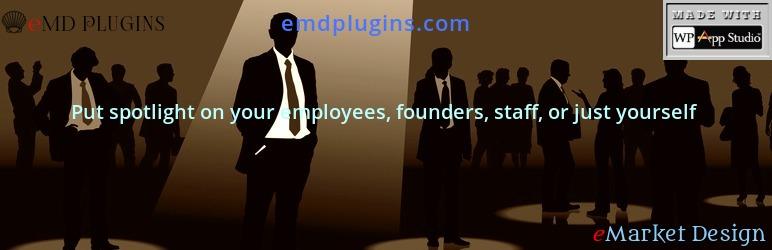 Employee Spotlight – Team Members Staff Showcase Plugin