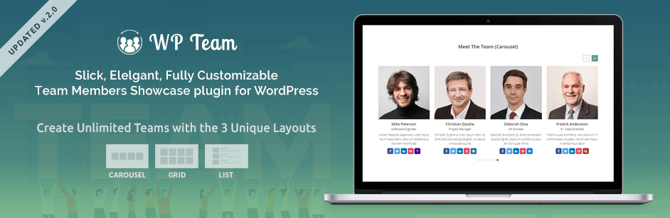 WP Team – Best Team Members Plugin for WordPress