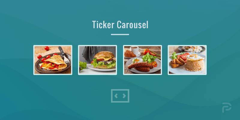 Image-Ticker Carousel in WordPress